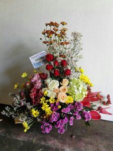 new bunga meja 6