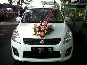 Karangan Bunga di Kota Malang