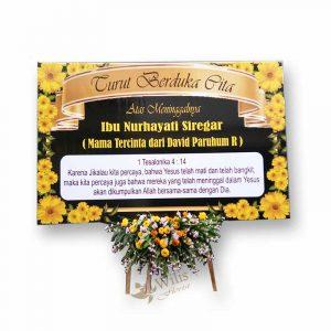 Karangan Bunga Papan Duka Cita bpdcp006