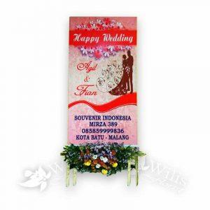 Bunga Papan Pernikahan P01