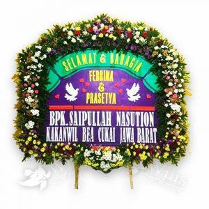 Bunga Papan Pernikahan f01