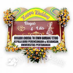 Bunga Papan Pernikahan p03