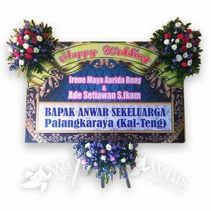 Bunga Papan Pernikahan p04